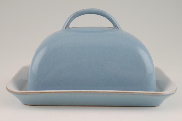 Butter Dish + Lid £34.75 | 1 in stock to buy now | Denby Colonial Blue