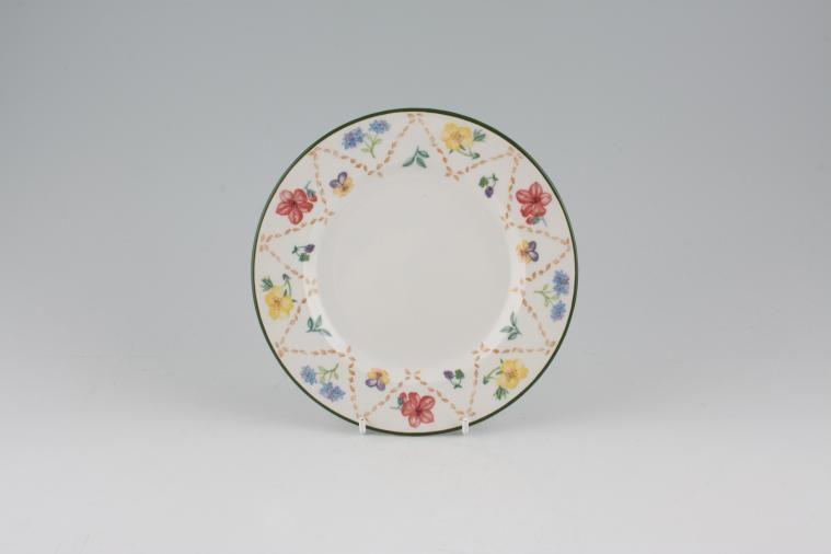 Johnson Brothers - Diamond Flowers - Tea / Side / Bread & Butter Plate