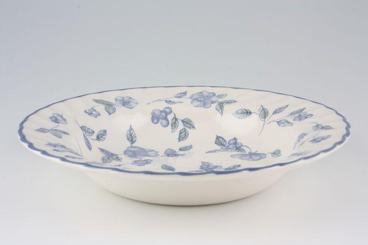 BHS - Bristol Blue - Rimmed Bowl