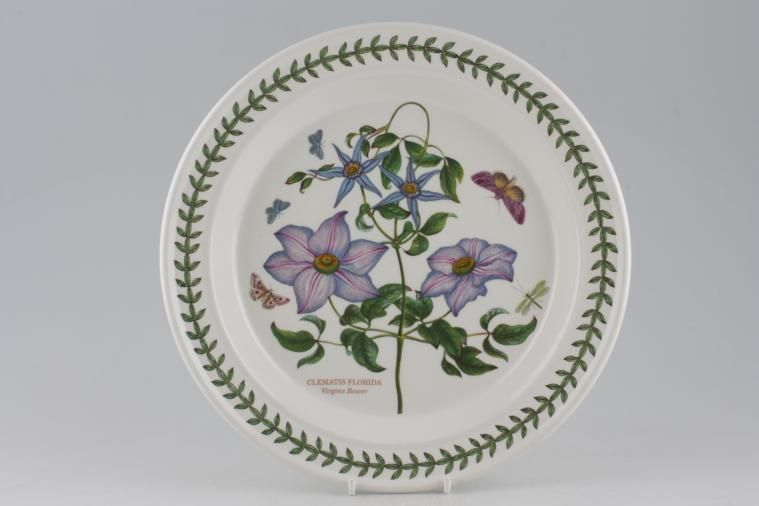 No Obligation Search For Portmeirion Botanic Garden Newer Backstamps Dinner Plate