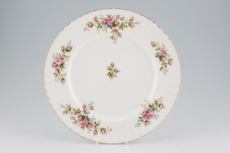 Royal Albert - Moss Rose - Dinner Plate - fluted