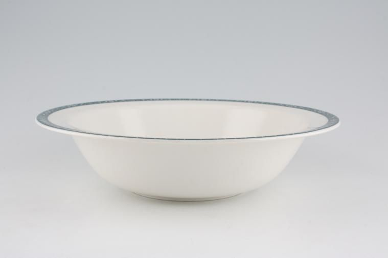 Royal Doulton - Moonstone - Vegetable Tureen Base Only - No Handles/use as round open veg/fruit bowls