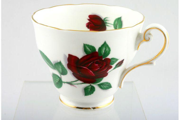 Royal Standard - Red Velvet - Teacup - Pear shape