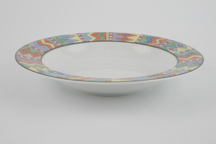 Villeroy & Boch - Switch 2 - Rimmed Bowl - La Paz - Soup